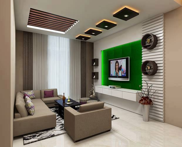 Attractive 50 Creative Living Room Ideas To Incorporate Wall Mounted Cabinets